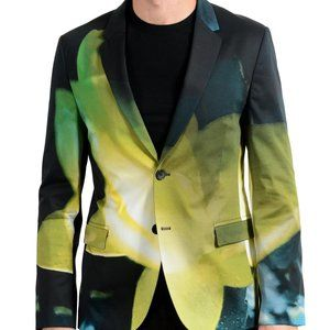 "Hugo Boss ""Arelto"" Men's Graphic Blazer Sport Coat"